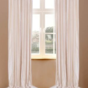 Pure Silk Dupioni Curtains