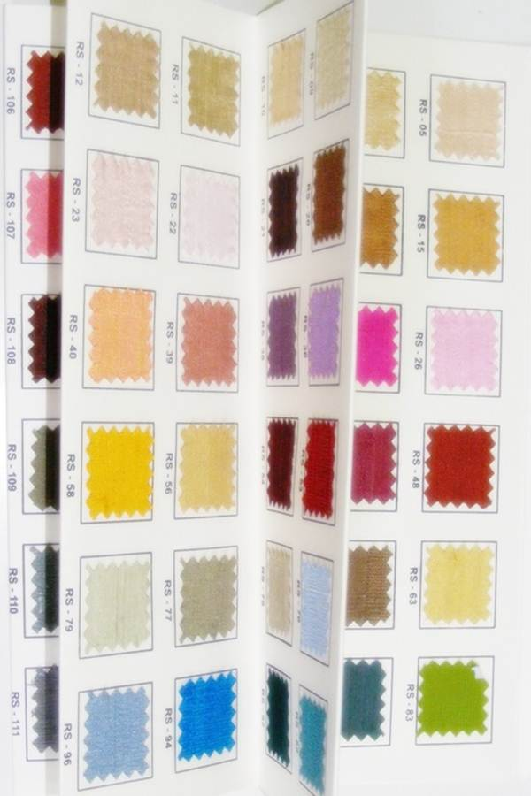 Sample Swatches & Color Cards